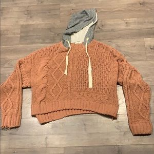 Elan (Ruby and Jenna) Soft Hooded Sweater